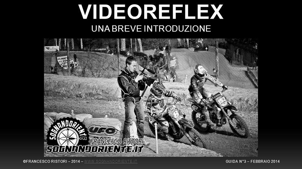 VIDEOREFLEX UNA BREVE INTRODUZIONE ©FRANCESCO RISTORI – 2014 – WWW.SOGNANDORIENTE.IT GUIDA N°3 – FEBBRAIO 2014WWW.SOGNANDORIENTE.IT