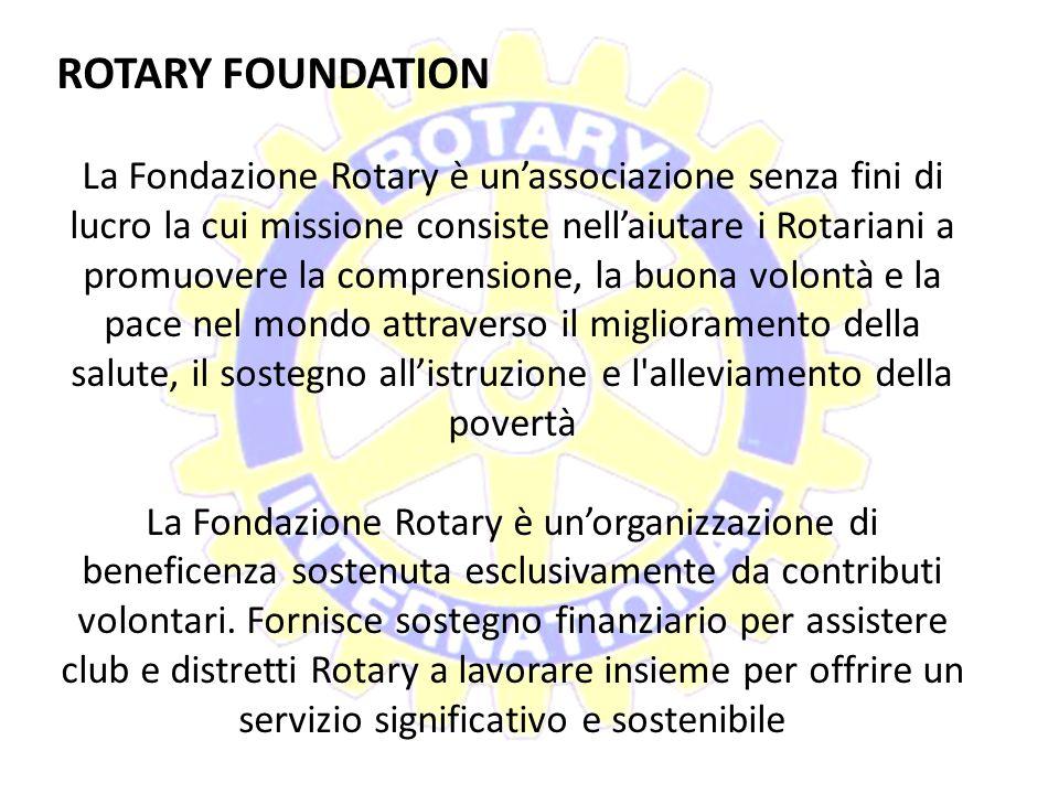 I Clubs locali I Rotary club locali appartengono al Rotary International. I soci individuali, o Rotariani, appartengono a un club. I clubs sono ammini