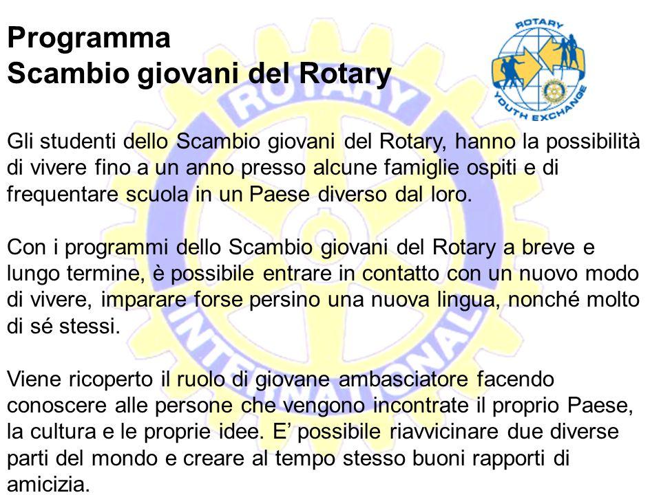Il Rotaract Il Rotaract è un'associazione di giovani fra i 18 e i 30 anni d'età dediti al volontariato. Ogni club Rotaract si appoggia a un'università