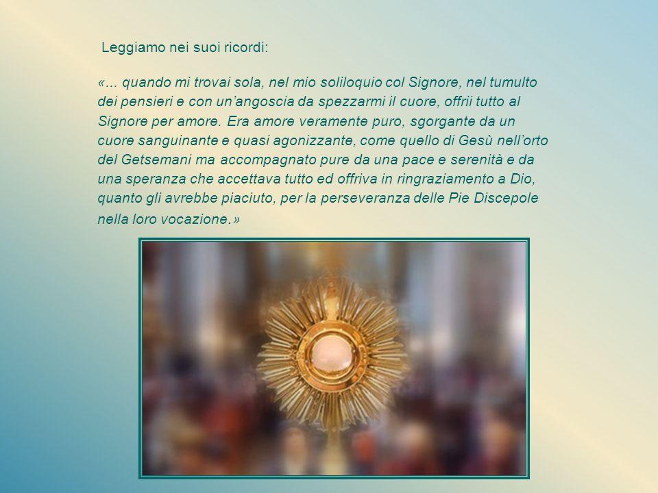 Esilio Il 15 aprile 1946 è il lunedì della Settimana santa. E' il giorno in cui la liturgia contempla Maria che a Betania unge, con il profumato nardo