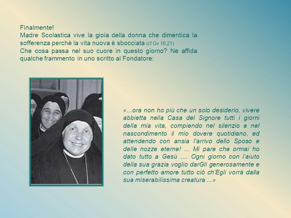 Il 3 aprile 1947, Giovedì Santo, le Pie Discepole del Divin Maestro vengono approvate dalla Chiesa con il decreto firmato dal vescovo di Alba, Mons. L