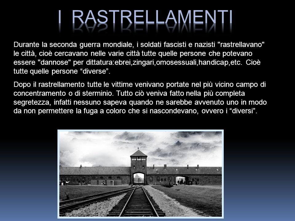 Durante la seconda guerra mondiale, i soldati fascisti e nazisti