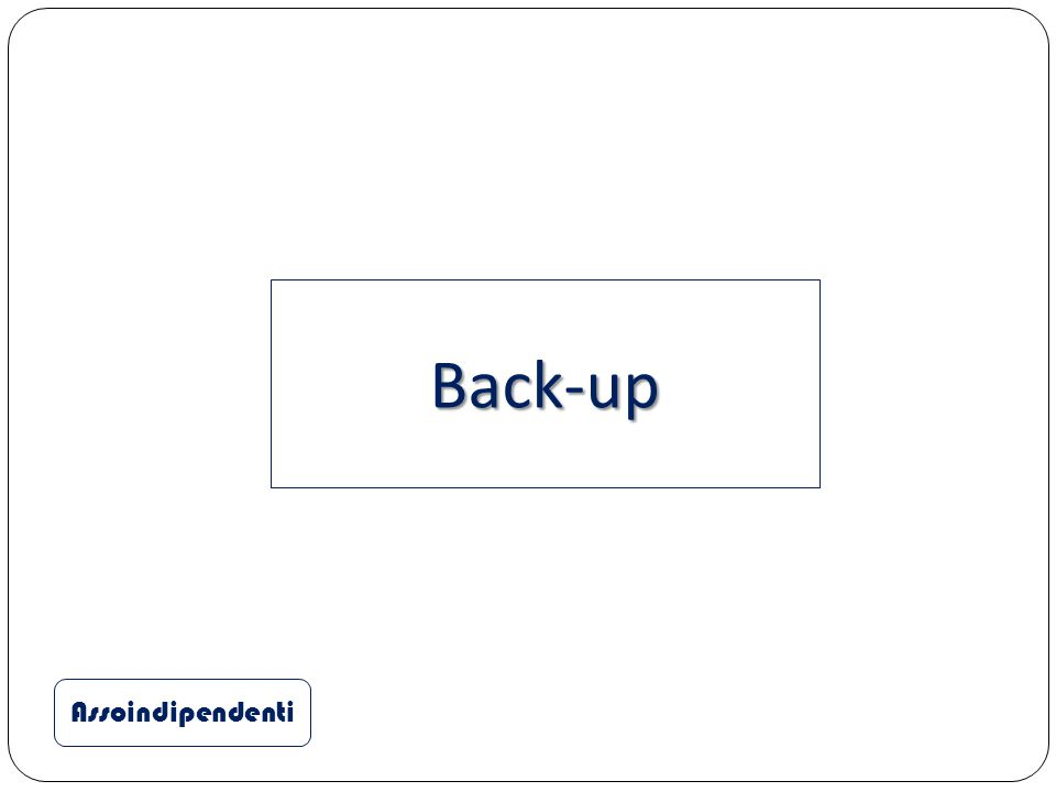 Assoindipendenti Back-up