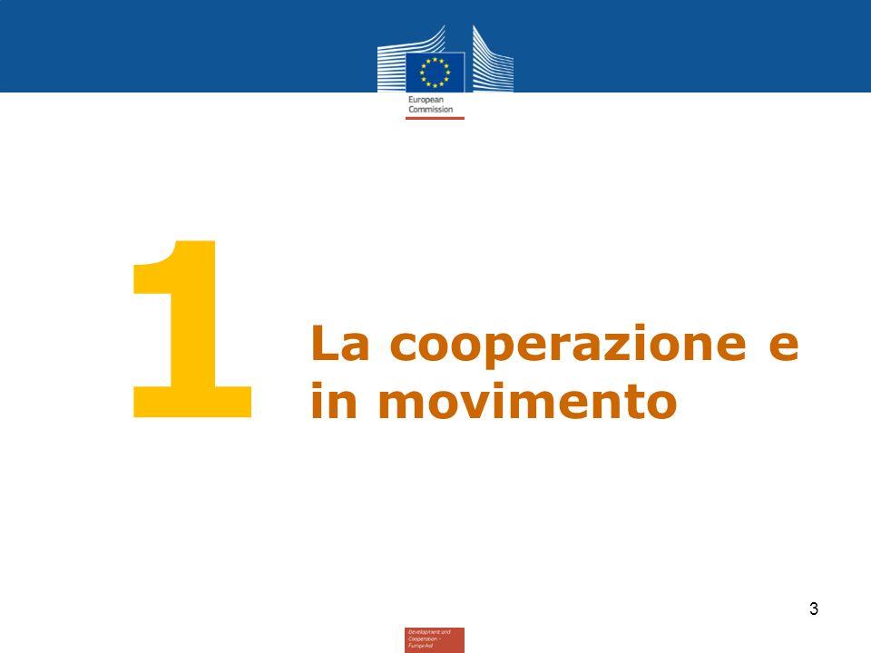 DEVCO « Potenziare l'impatto della politica di sviluppo dell 'UE: un programa di cambiamento » (ottobre 2011) 4