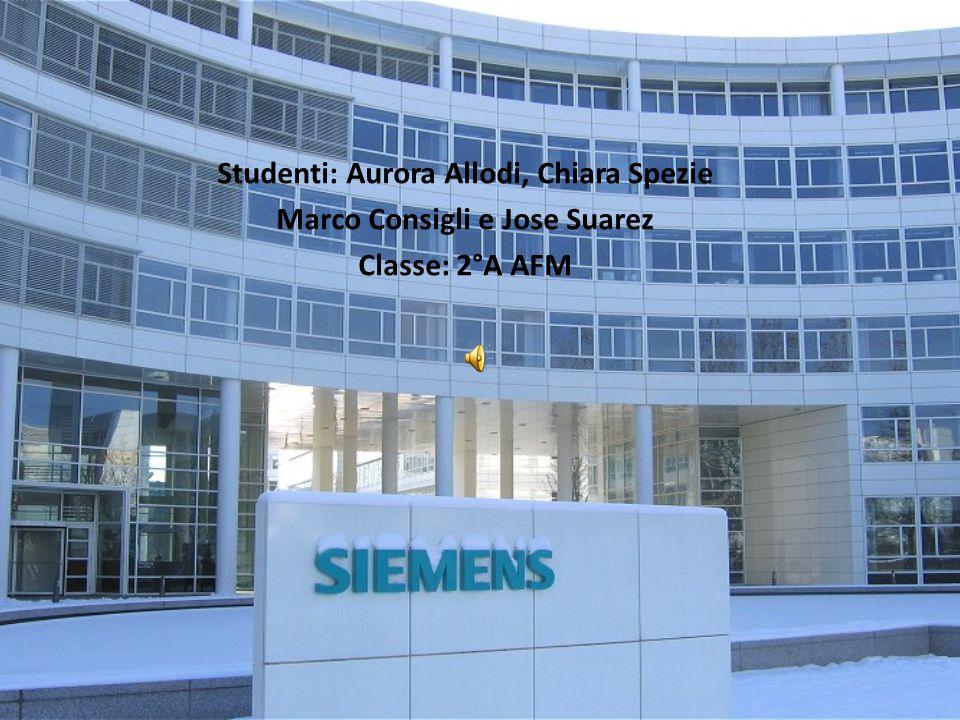 Studenti: Aurora Allodi, Chiara Spezie Marco Consigli e Jose Suarez Classe: 2°A AFM