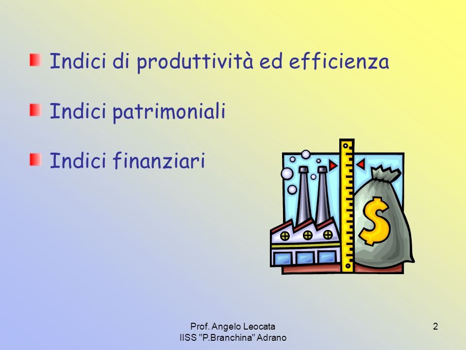 Prof. Angelo Leocata IISS P.Branchina Adrano 3
