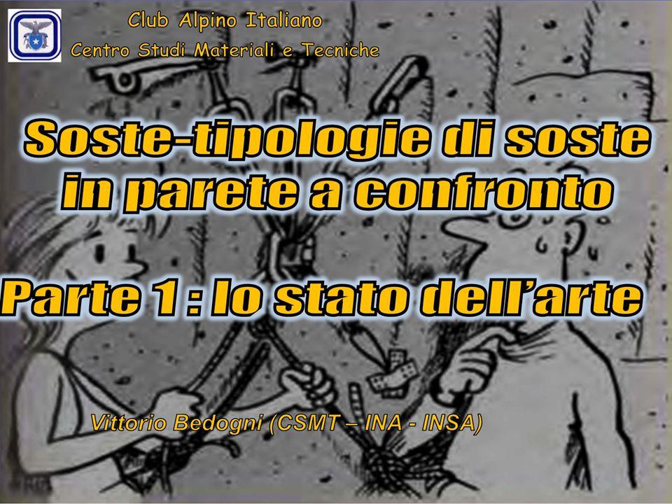 FISSO CON NODO DI BILANCIAMENTO MOBILE ( MAGIC X ) FOCUS SU 2 TIPI DI COLLEGAMENTO Club Alpino Italiano Centro Studi Materiali e Tecniche