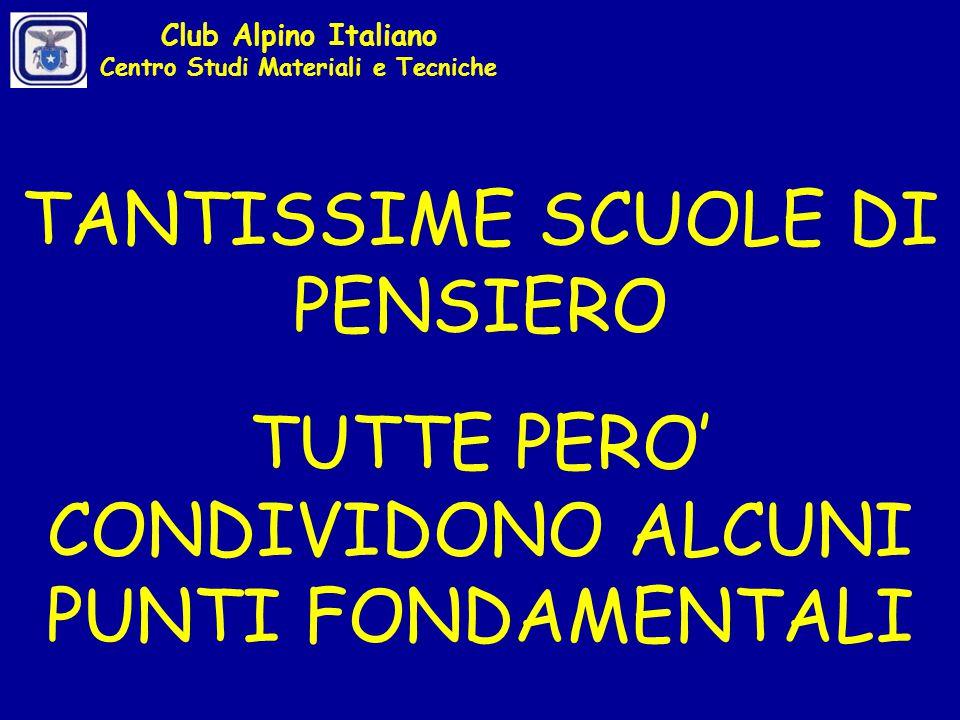 LA ''TORRE DI PADOVA'' CARICO CENTRATO CARICO CON OFFSET Club Alpino Italiano Centro Studi Materiali e Tecniche