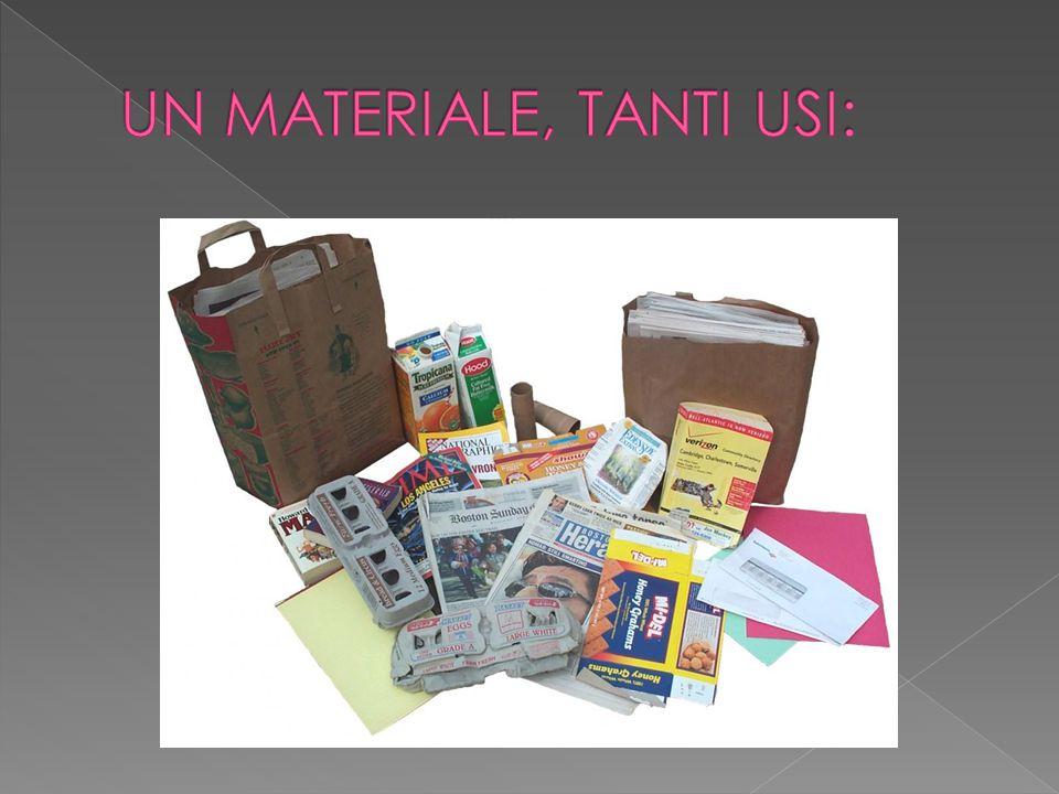  Le materie prime per la fabbricazione della carta si distinguono in: - Materie prime fibrose; - Materie prime non fibrose.