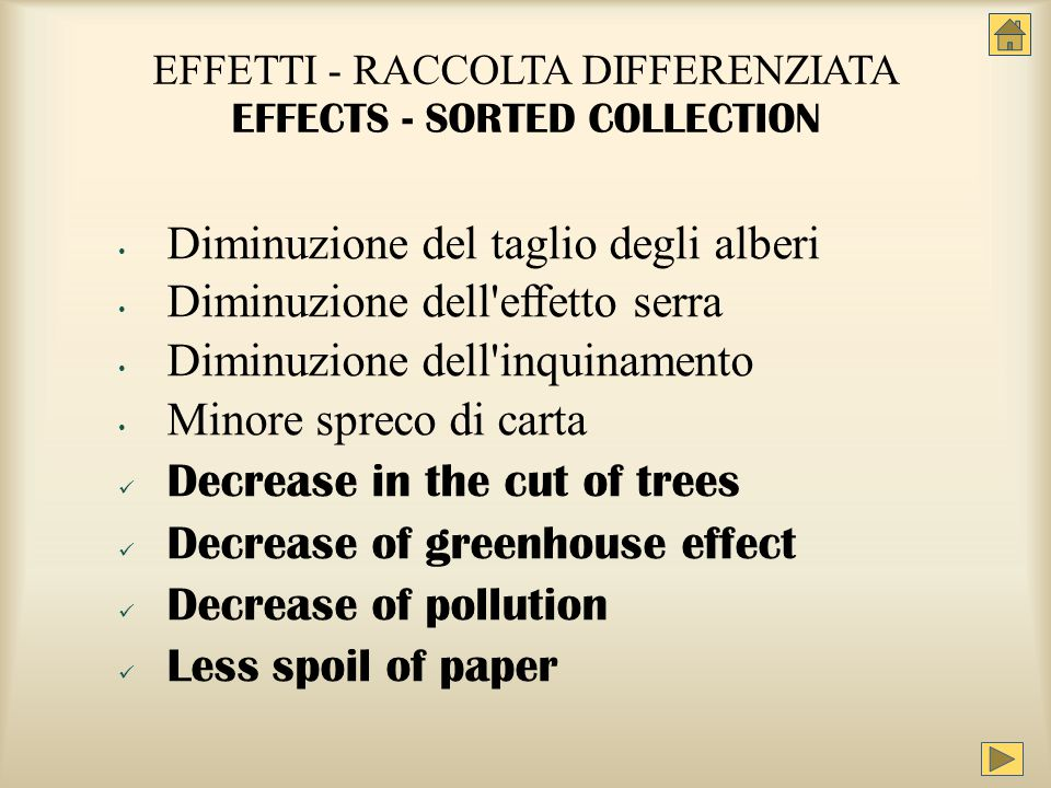 Per smaltire una lattina occorrono 50 anni o 500 ml di acqua To dispose of a can takes 50 years or 500 ml of water Perché because…