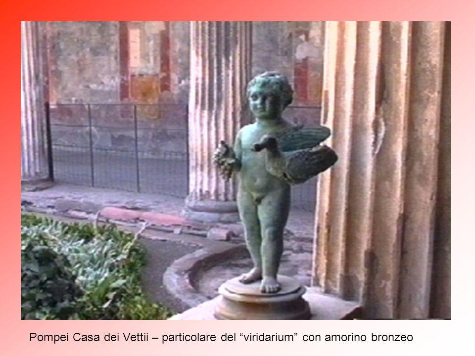 """Pompei Casa dei Vettii – """"Viridarium"""" (5)"""