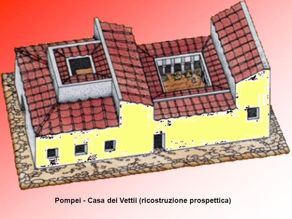 Pompei - Casa dei Vettii (ricostruzione prospettica)