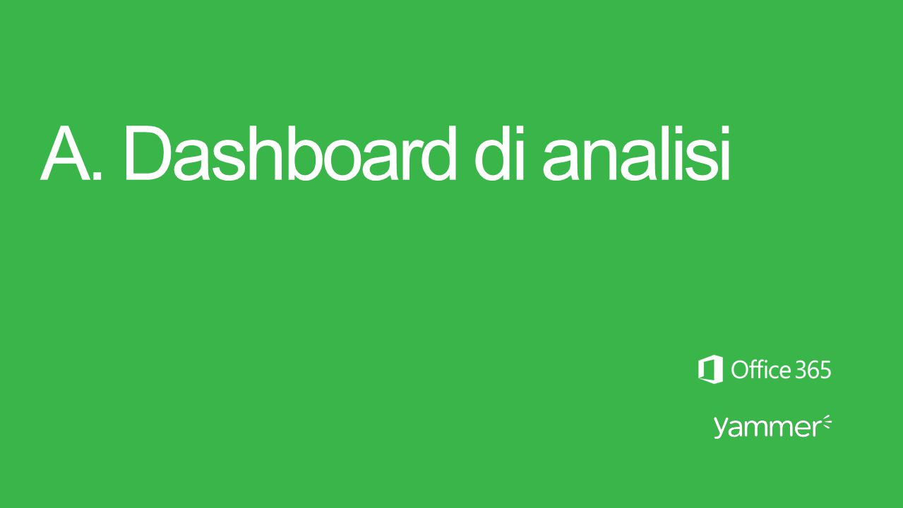A. Dashboard di analisi