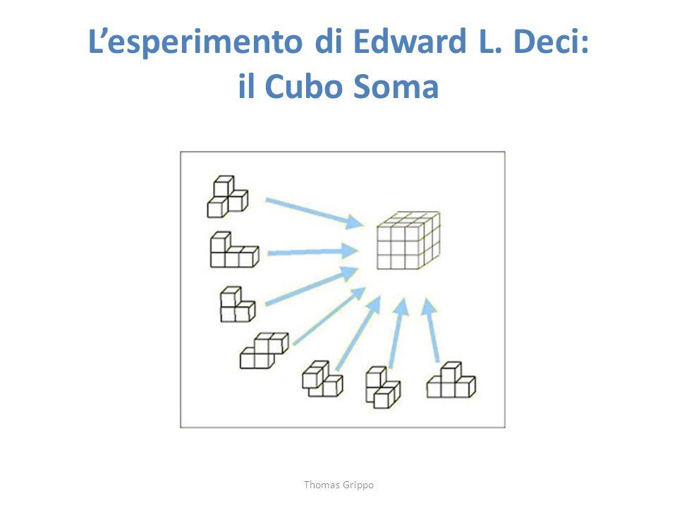 L'esperimento di Edward L. Deci: il Cubo Soma Thomas Grippo