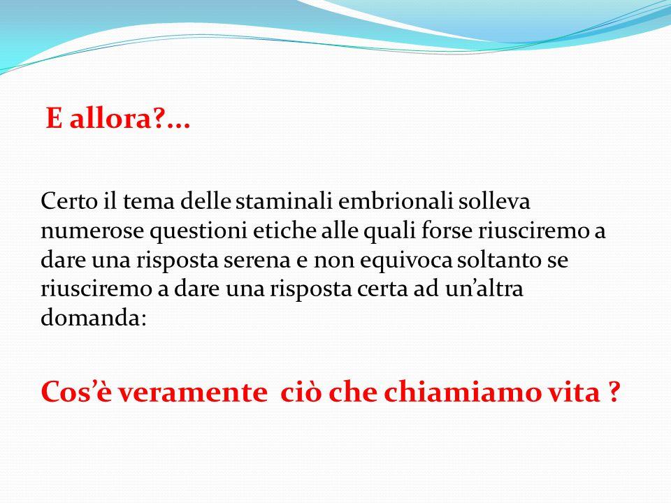 E in Italia?... La legge italiana è ingarbugliata e contraddittoria: È infatti proibita la derivazione di nuove linee di ES, ma è permesso l'uso di li
