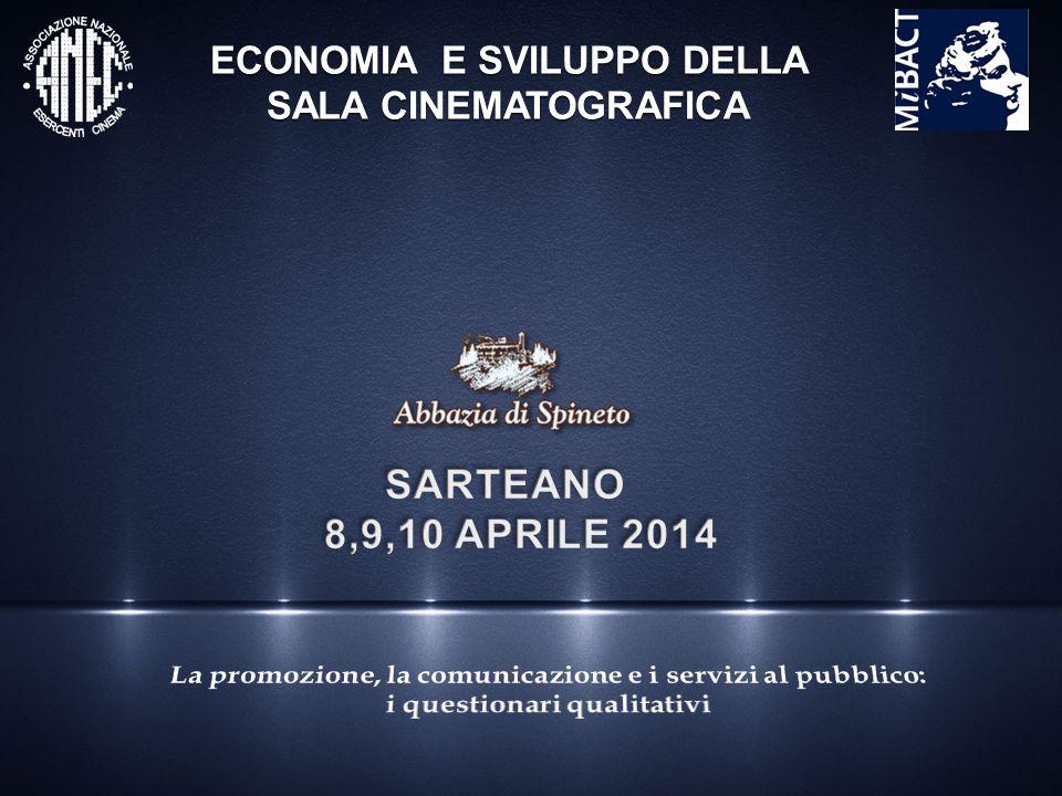Esempi di convenzioni con l'amministrazione locale e privati per raggiungere i cinema Nel 2008 convenzione tra ANEC Emilia Romagna e Comune di Bologna per la tutela delle sale cinematografiche.