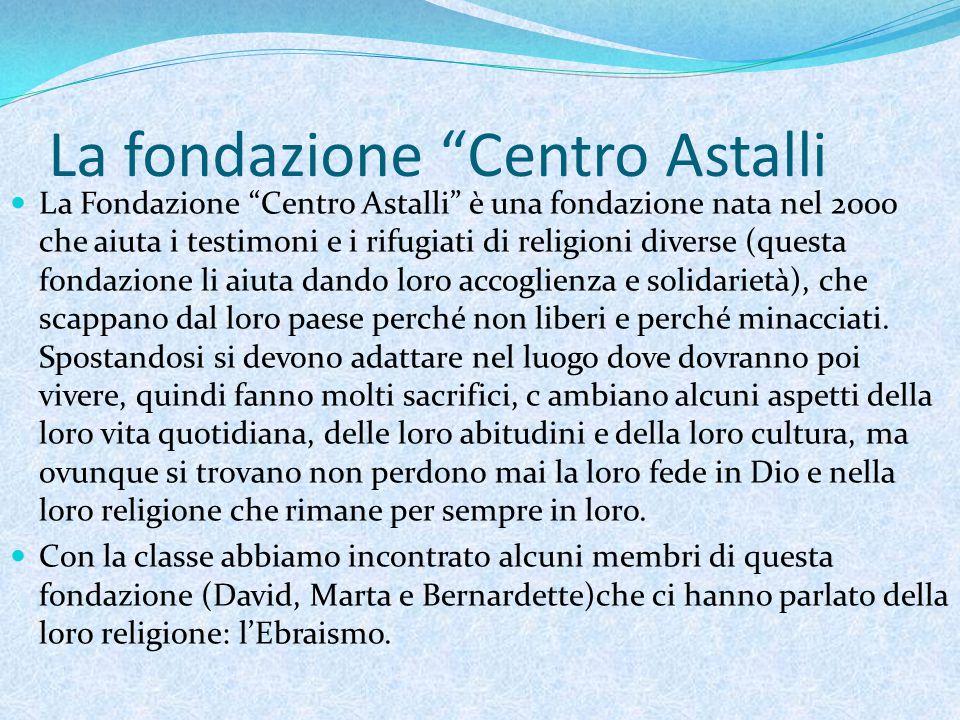 """Arioni Giorgia Scuola """"Col di Lana Classe 1 I Roma 19 marzo 2014 L'Ebraismo"""