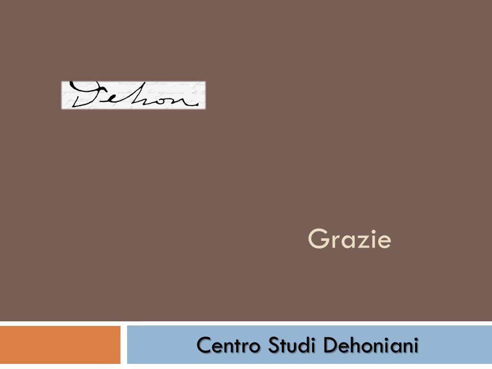 Grazie Centro Studi Dehoniani