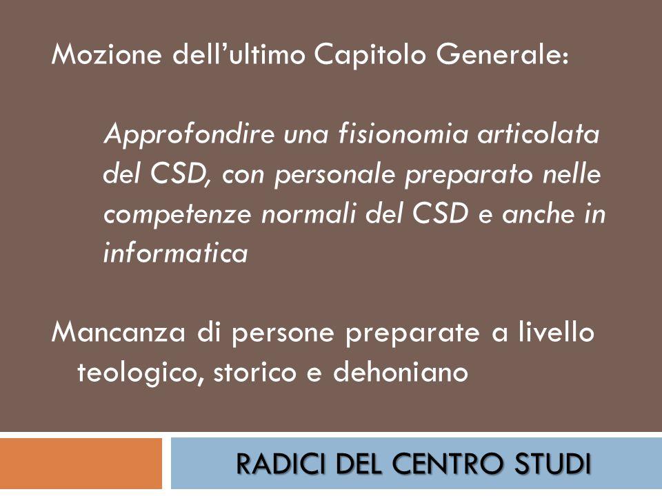 RADICI DEL CENTRO STUDI Mete raggiunte: Digitalizzazione e pubblicazione on line dei testi di p.