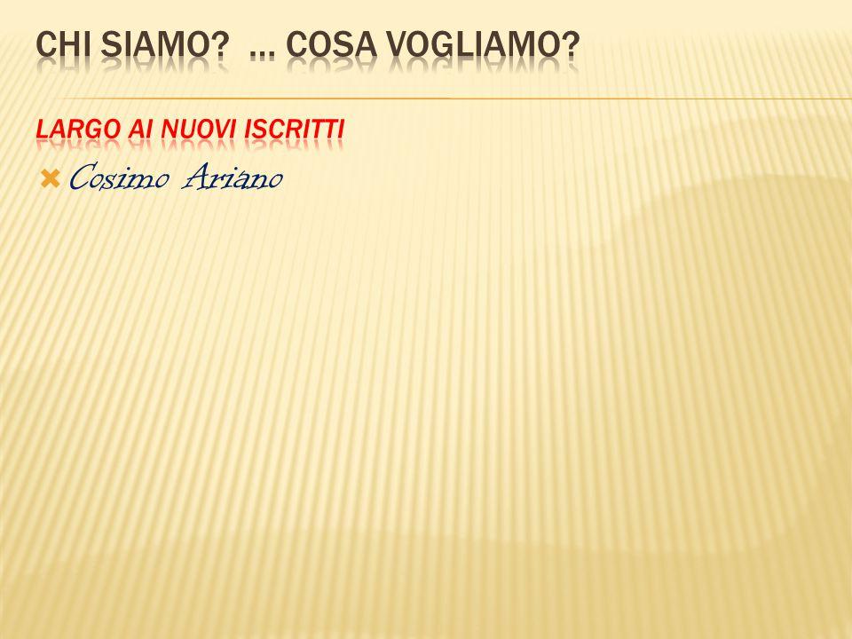  Cosimo Ariano