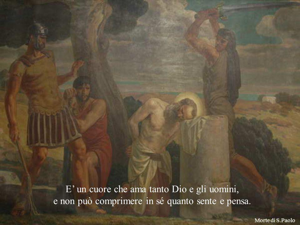 e ne comunica l'eccedenza alle anime. E' un santo che accumula tesori, S.Paolo Beato Alberione