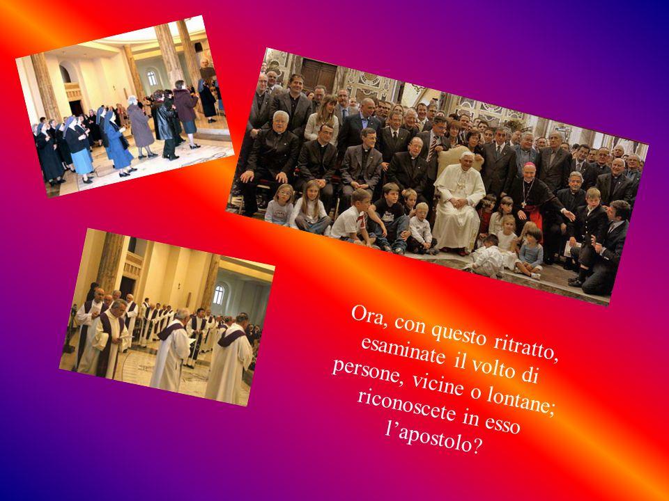 E' un tempio della SS.Trinità, la quale è sommamente operante; trasuda Dio da tutti i pori: con le parole, le opere, le preghiere, i gesti, gli atteggiamenti; in privato ed in pubblico.