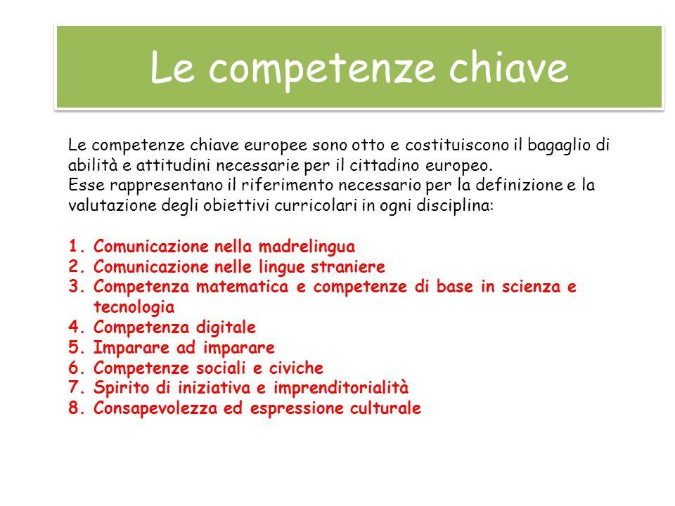 Per promuovere le competenze chiave non s'individua una metodologia univoca ma s'intravedono alcune caratteristiche essenziali.