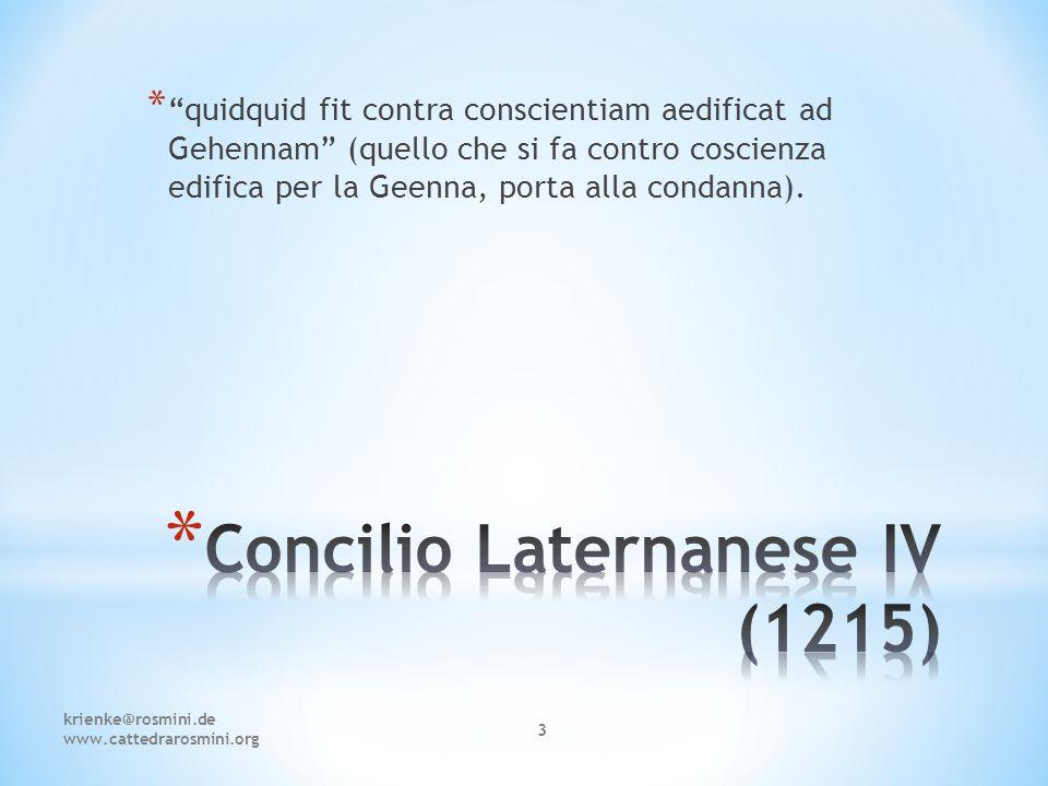 Prof. Markus Krienke Cattedra Antonio Rosmini Facoltà di Teologia di Lugano krienke@rosmini.de