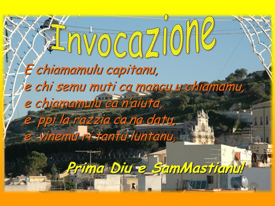 SamMastianu, Santu giuvinettu, La terra di Milanu criau, Li so' carnuzzi nun tuccaru terra, Tuccaru 'n vanchiceddu trapassatu.