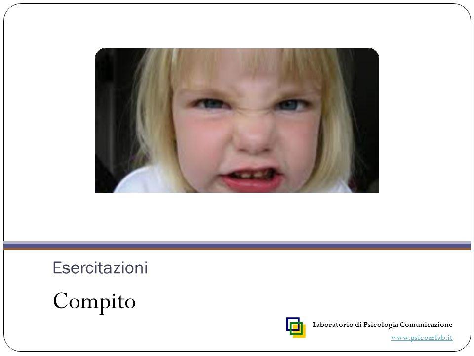 Proporre ai bambini l'immagine di un volto emozionato, in particolare di un volto che esprime rabbia.