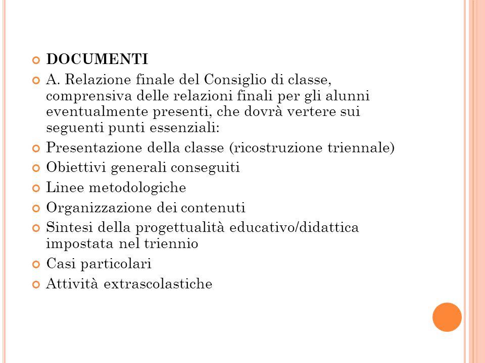 DOCUMENTI A.
