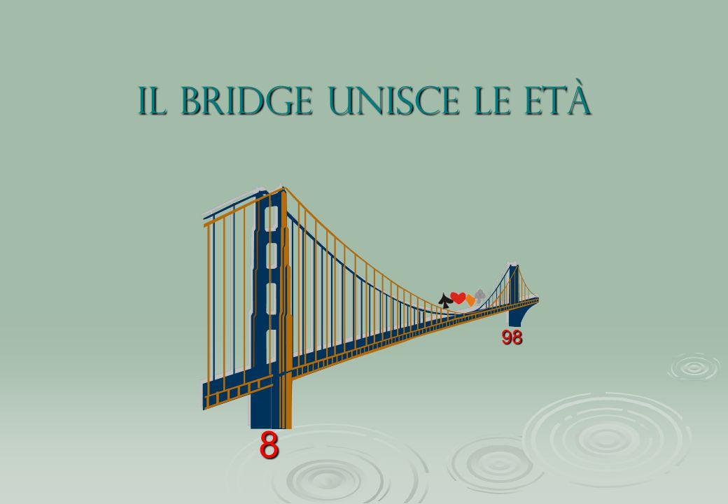 il bridge unisce le età 8 98