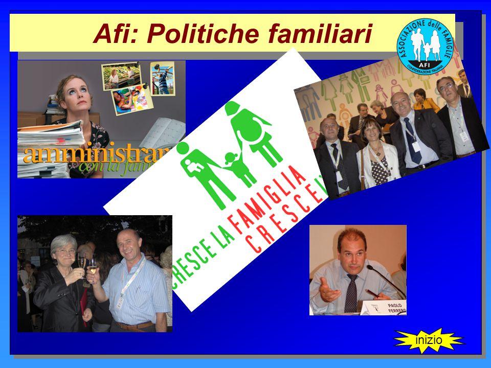 Afi: Politiche familiari inizio
