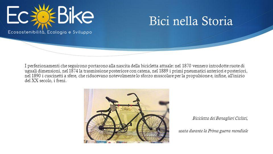 I perfezionamenti che seguirono portarono alla nascita della bicicletta attuale: nel 1870 vennero introdotte ruote di uguali dimensioni, nel 1874 la t
