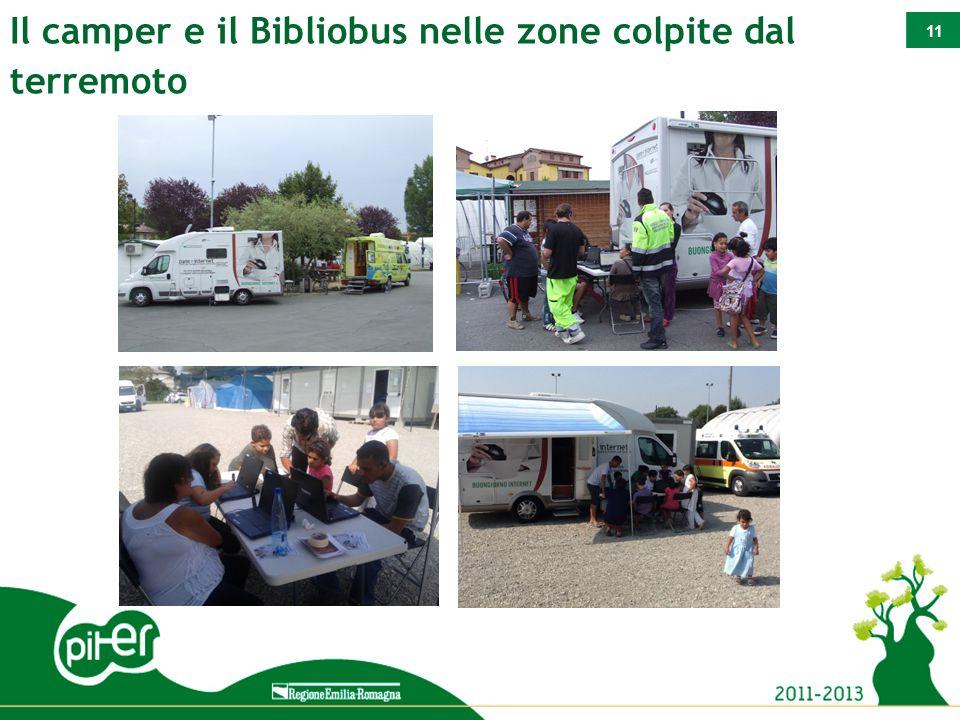 11 Il camper e il Bibliobus nelle zone colpite dal terremoto
