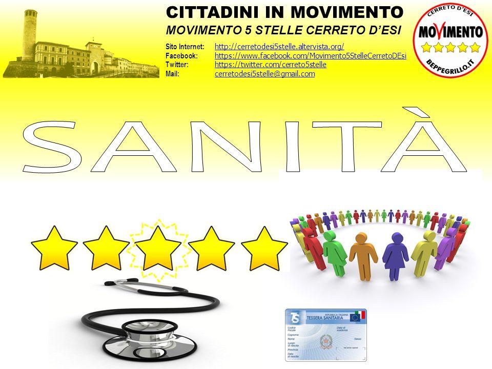 CITTADINI IN MOVIMENTO MOVIMENTO 5 STELLE CERRETO D'ESI Sito Internet: http://cerretodesi5stelle.altervista.org/ http://cerretodesi5stelle.altervista.