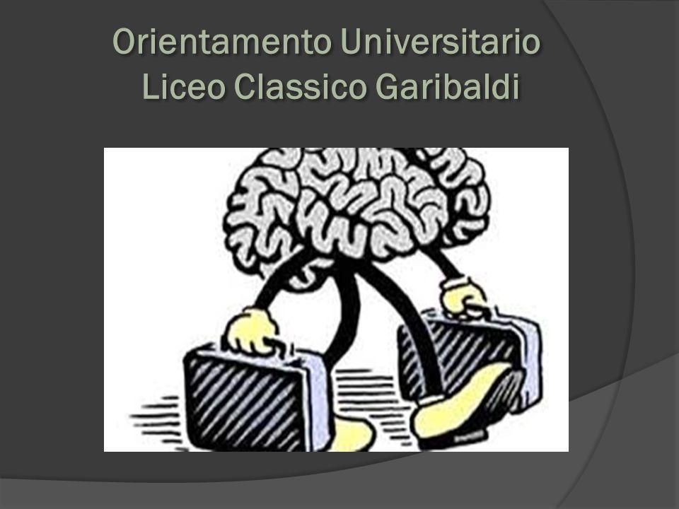 Orientamento Universitario Liceo Classico Garibaldi