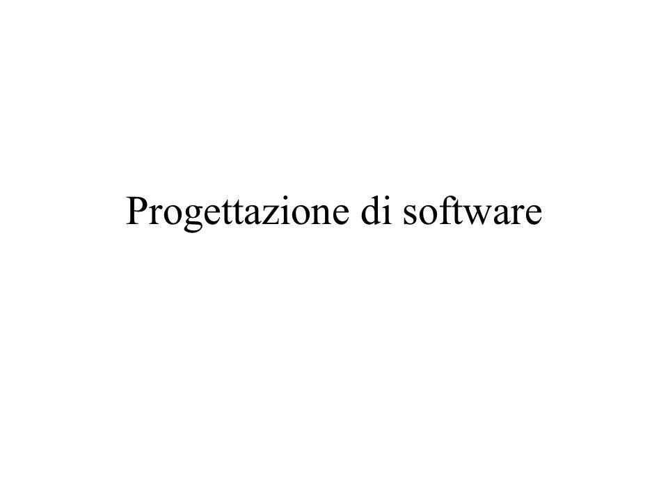 Progettazione di software