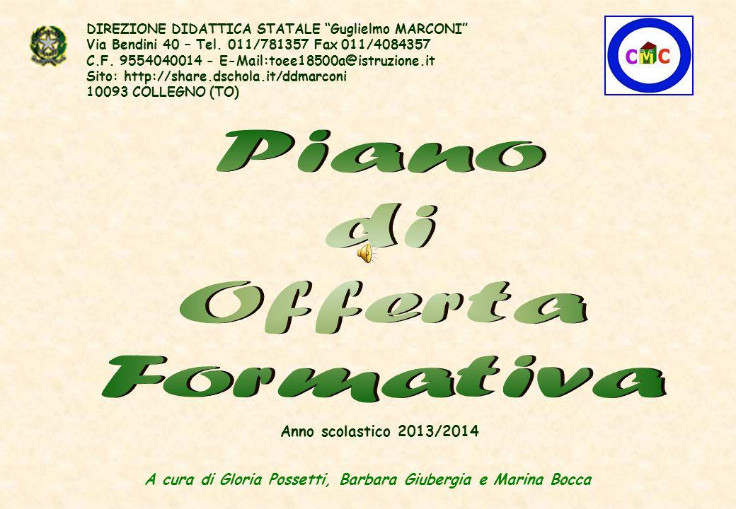 """DIREZIONE DIDATTICA STATALE """"Guglielmo MARCONI"""" Via Bendini 40 – Tel. 011/781357 Fax 011/4084357 C.F. 9554040014 - E-Mail:toee18500a@istruzione.it Sit"""