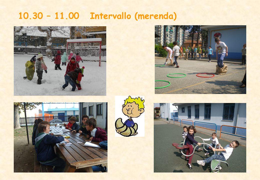 11.00 – 12.30 Attività nelle classi: disciplinari o di laboratorio