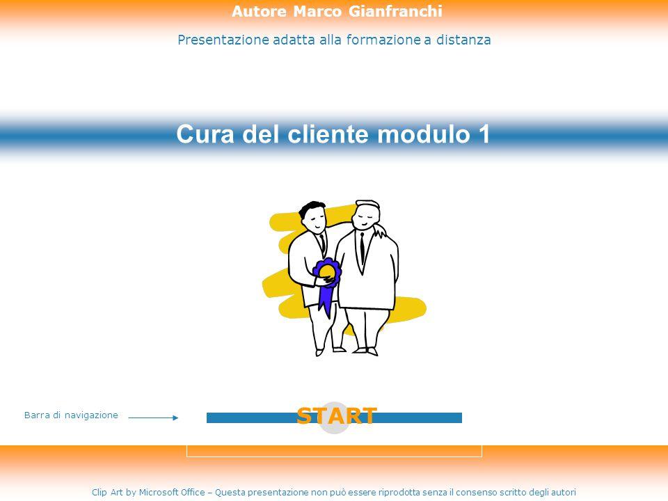 Presentazione adatta alla formazione a distanza Autore Marco Gianfranchi Clip Art by Microsoft Office – Questa presentazione non può essere riprodotta