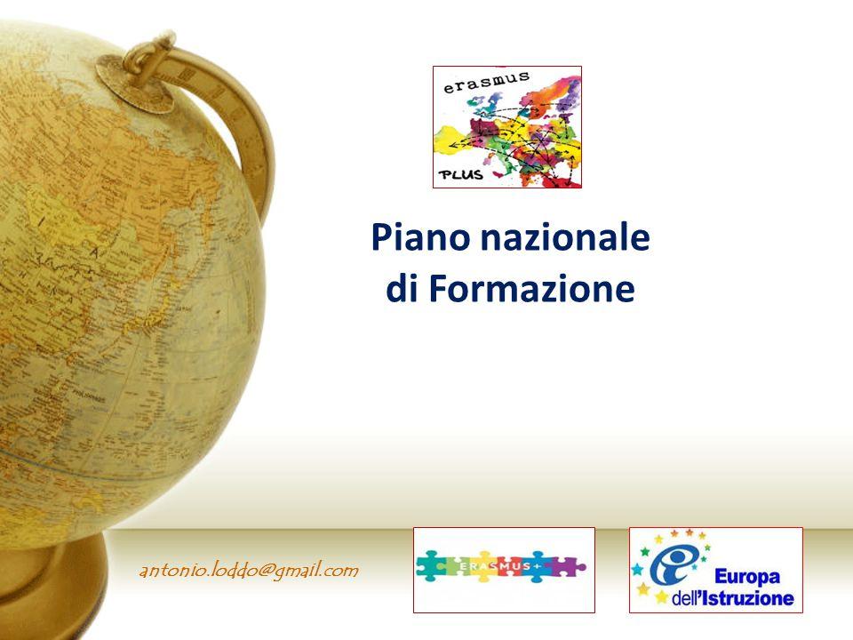 antonio.loddo@gmail.com Piano nazionale di Formazione