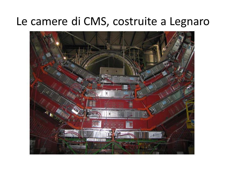 Le camere di CMS, costruite a Legnaro