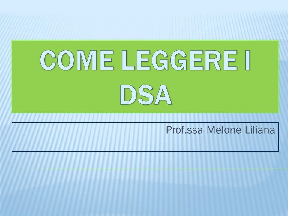 Prof.ssa Melone Liliana