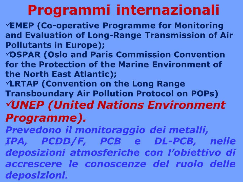 Norma Europea EUROPEAN STANDARD NORME EUROPÉENNE UNI EN 15980 Qualità dell'aria – Determinazione della deposizione di benzo[a]antracene, benzo[b]fluorantene, benzo[j]fluorantene, benzo[k]fluorantene, benzo[a]pirene, dibenzo[a,h]antracene e indeno[1,2,3-cd]pirene EUROPEAN STANDARD NORME EUROPÉENNE UNI EN 15841 Qualità dell'aria – Metodo normalizzato per la determinazione di arsenico, cadmio, piombo e nichel in deposizioni atmosferiche EUROPEAN STANDARD NORME EUROPÉENNE UNI EN 15853 Qualità dell'aria – Metodo normalizzato per la determinazione di deposizione di mercurio Norme definite a livello CEN Deposimetri - Wet Raccolta delle deposizioni umide Deposimetri - Bulk Raccolta totale delle deposizioni