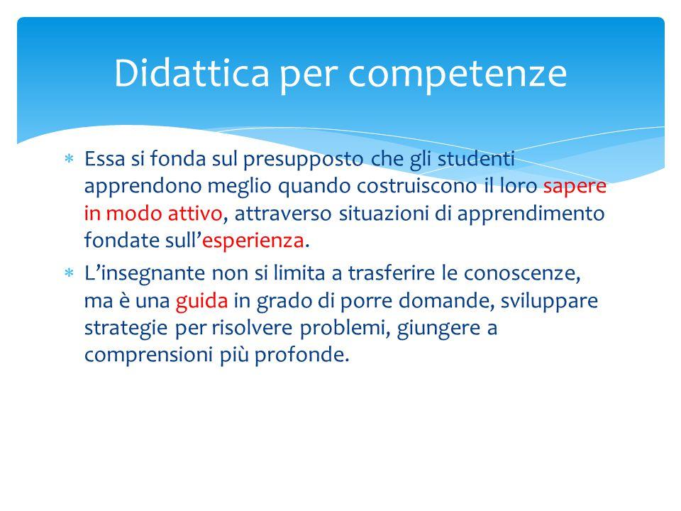  problemi complessi, aperti, posti agli studenti come mezzo per dimostrare la padronanza di qualcosa .