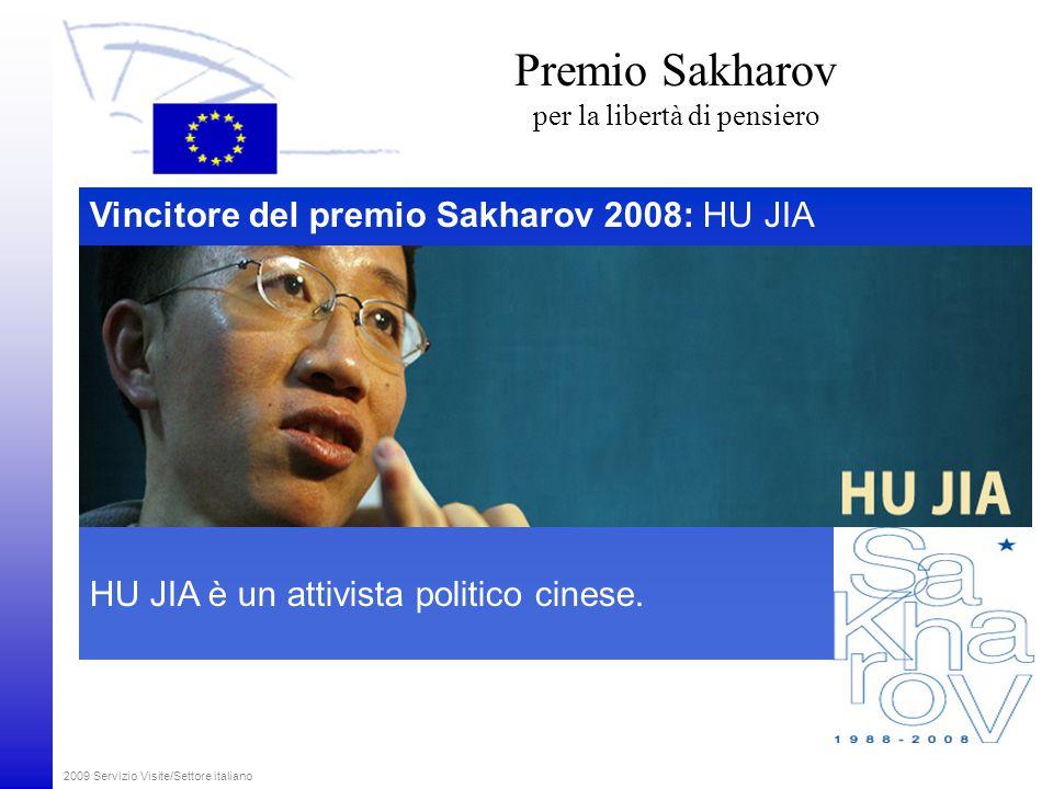 2009 Servizio Visite/Settore italiano Informazioni sul Parlamento europeo in internet www.europarl.europa.eu www.europa.eu