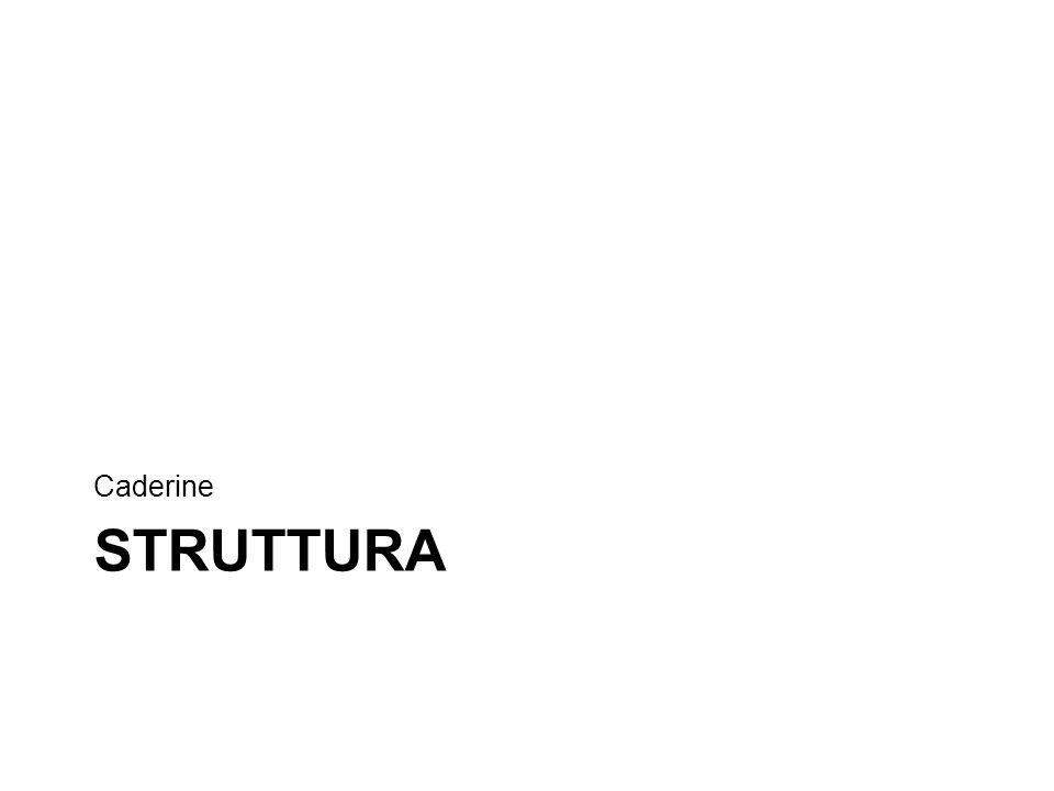 STRUTTURA Caderine