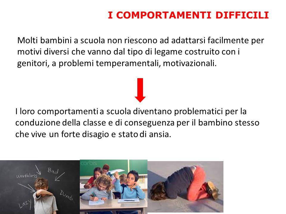Molti bambini a scuola non riescono ad adattarsi facilmente per motivi diversi che vanno dal tipo di legame costruito con i genitori, a problemi tempe