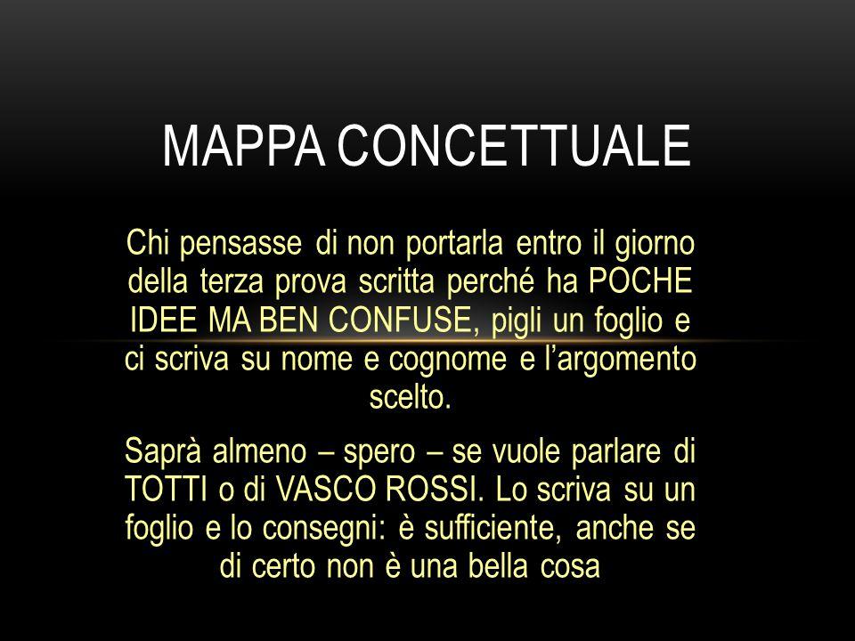ITALIANO e la materia della VERSIONE per prassi non sono argomento di terza prova.